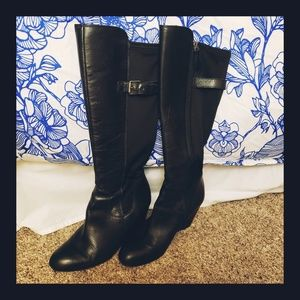 Franco Sarto   Knee High Leather Boots